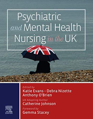51d9zhh1cHL - Psychiatric and Mental Health Nursing in the UK, E-Book