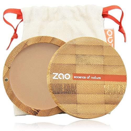 Zao - Recharge Poudre Compacte Bio / 9 Gr - Couleur : Beige Orangé n°302