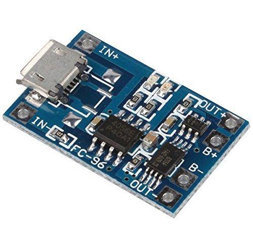 Aihasd Micro USB 5V 1A 18650 Batería de Litio Módulo del cargador cargador Tablero Con Función de protección