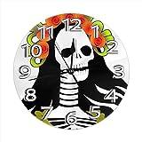 AZHOULIULIU Co.,ltd Número de Reloj Relojes de Escritorio Decoración para el baño de la Escuela Creatividad Precisión