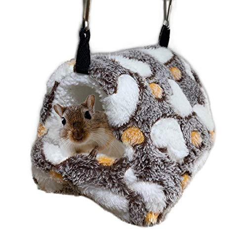 Oncpcare Winter-Hängematte, warm, für Hamster, zum Spielen, weich, für kleine Tiere