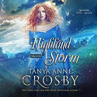 Highland Storm audiobook cover art
