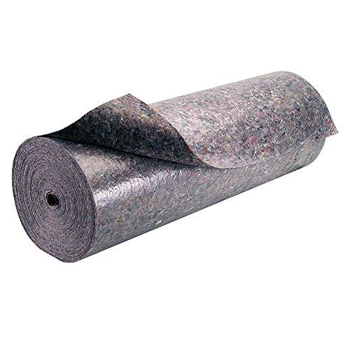 Maurer 12060002 Feltro multiuso per pavimento, assorbente, antiscivolo, 25 x 1 m, 180-210 gr/m2