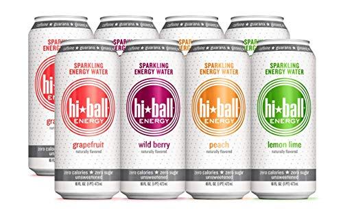 8 Count Hiball Energy 4 Flavor Sparkling Energy Water Variety Pack Only, $18.71 + Free Shipping