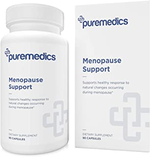 PUREMEDICS Menopause Support - Comprehensive 10-in-1 Menopause Relief Complex with Black Cohosh - Pharmaceutical-Grade - 3...