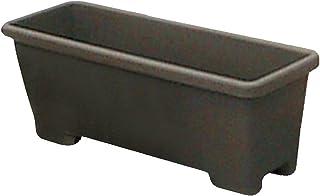 アイリスオーヤマ プランター 足付プランター 550 ダークブラウン 幅約55.4×奥行約20.2×高さ約20