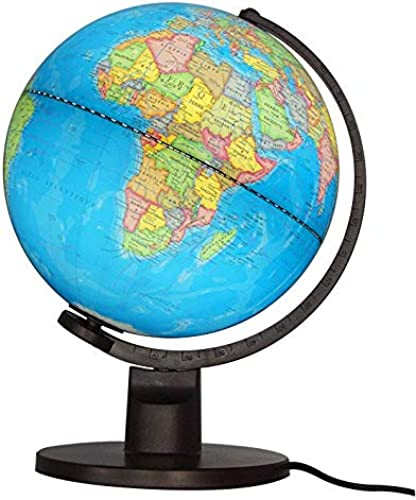 Globe  Lumineux Politique, 25 Cm