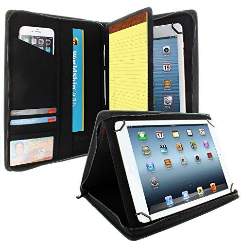KHOMO Universal-Schutzhülle für Tablets mit 21,6 cm (8,5 Zoll) bis 27,9 cm (11 Zoll) – Kohlefaser – kompatibel mit iPad Air, Pro 11 & vielen Anderen