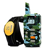 Peteme Shock Collar for Dogs, Dog Training Shock Collar Rechargeable...