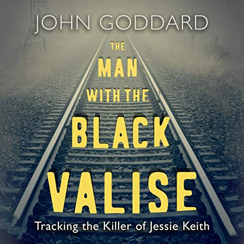 The Man with the Black Valise audiobook cover art