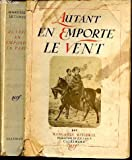 Autant en emporte le vent - Gallimard - 03/01/1939