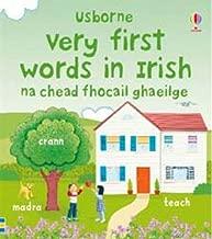 Very First Words in Irish (Usborne First Words Board Books)