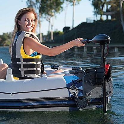 12 Volt Trolling Elektromotor optimal für Belly Boote