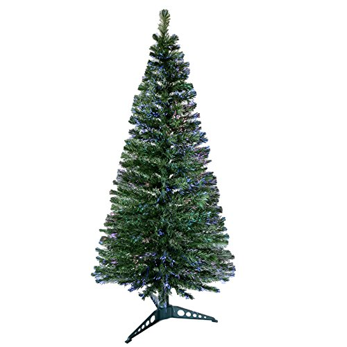 Christmas Concepts 6ft 180cm Beautiful Green Fibre Optic Artificial Indoor Christmas Xmas Tree New