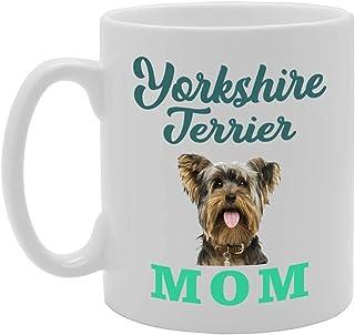 Yorkshire Terrier Mom Novelty Gift Printed Tea Coffee Ceramic Mug