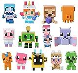 Minecraft mini figuras de juguete individuales modelos surtidos (Mattel FXT80)...
