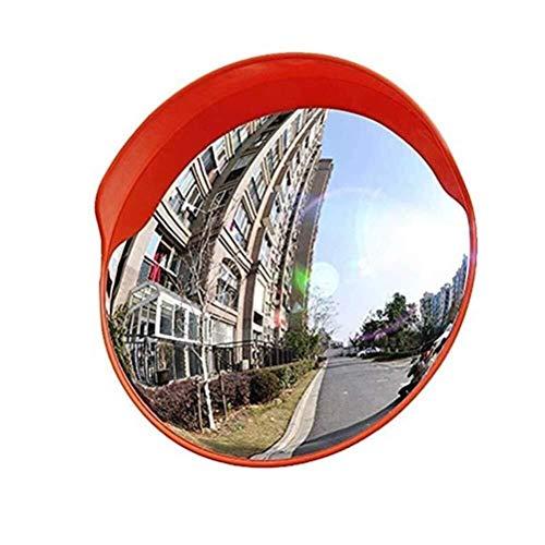 Xiao Jian- Sicherheitsspiegel Verkehrsspiegel Konvex Polycarbonat Your Vision Totwinkel-Assistent Park Mit Schraube Winkel erweitern Toter-Winkel-Spiegel (Größe : 45cm)
