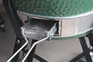 Mydracas Ash Remove Pan Slide Ash Drawer for Large Big Green Egg,Stainless Steel Ash Tool Big Green Egg Accessories