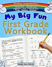 My Big Fun First Grade Workbook: 1st Grade Workbook Math, Language Arts, Science Activities to Support First Grade Skills