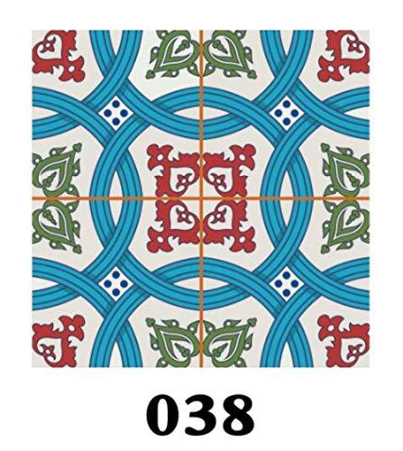 FICI 15 stks PVC Muursticker Bureau Keuken Decoratie Vloertegels Diagonale Art Muurschildering Badkamer DIY Muurstickers, 038,8 cm X 8 cm X 15 STKS