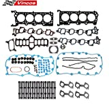 Vincos Cylinder Head Gasket Set with bolts Compatible with Ford F150 F250 F350 Expedition Excursion VIN L W 2000 2001 2002 2003