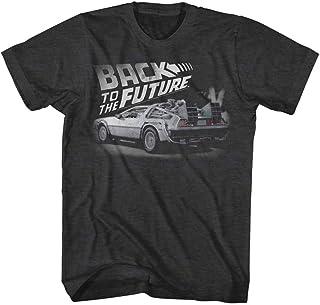 【予約商品】 BACK TO THE FUTURE バックトゥザフューチャー (公開35周年記念) - FADED BTTF/Tシャツ/メンズ 【公式/オフィシャル】