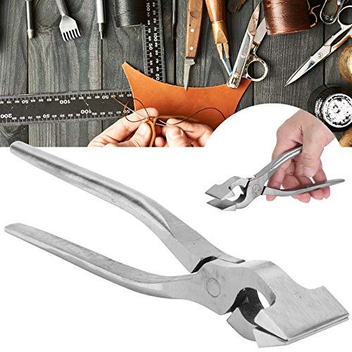 Alicates planos, alicates de sujeción para cuero que ahorran trabajo para productos de cuero