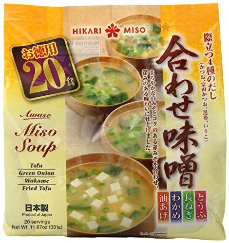 Hikari Miso Instant Awase Miso Variety Soup, 11.67 Ounce