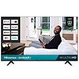 Hisense 50-Inch Class H6570G 4K Ultra HD Android Smart TV with Alexa Compatibility | 2020 Model