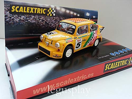 SCX Slot Scalextric 6146 Compatible Fiat 600 Abarth Tissot