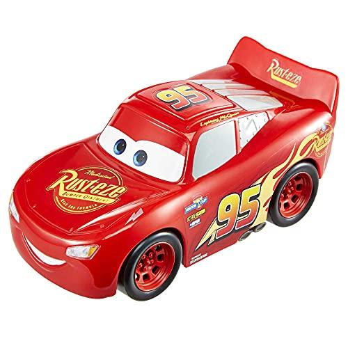 Cars Rayo McQueen Track Talkers Coche de juguete con sonidos, juguete para niños mayores de 3 años...