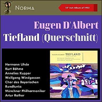 """Eugen d'Albert: Tiefland (Szenen) (10"""" Album of 1953)"""