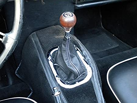 Genuine OEM Manual Transmission Shift Lever Boot Black Alcantara ...