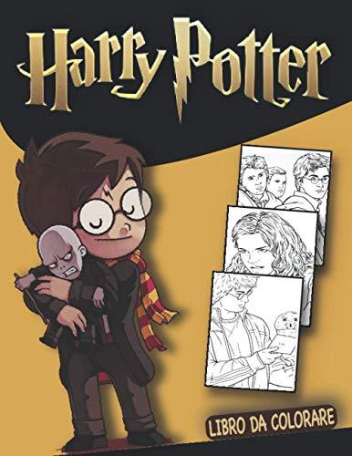 harry potter libro da colorare: Impara a disegnare Harry e i personaggi