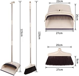 Best broom with attached dustpan Reviews