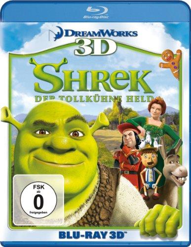Shrek - Der tollkühne Held [3D Blu-ray]