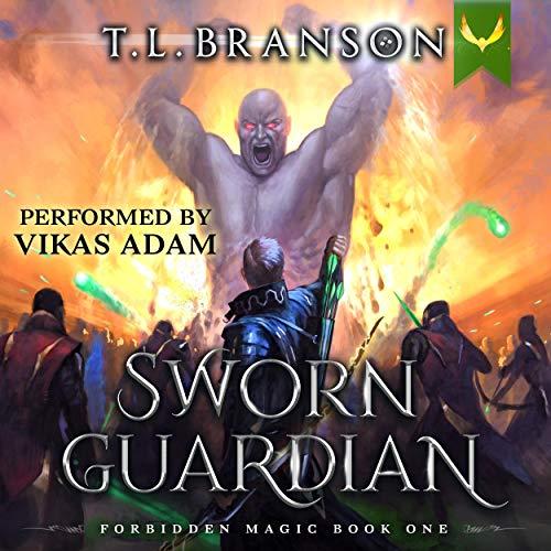 Sworn Guardian: A LitRPG/GameLit Adventure Audiobook By T. L. Branson cover art