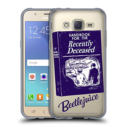 Head Case Designs Offizielle Beetlejuice Handbuch Grafiken Soft Gel Huelle kompatibel mit Samsung Galaxy J5 / J500