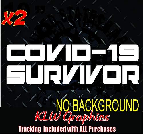 Survivor Pandemic Funny Sticker World Tour USA Signs HUMORISTIC Decals 19