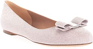 SALVATORE FERRAGAMO Luxury Fashion Womens 01P691 Pink Flats | Fall Winter 19
