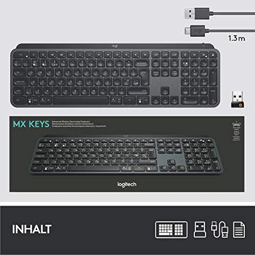 Logitech MX Keys (Beste Tastatur zum Schreiben) - 11