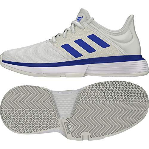 adidas SoleCourt xJ,  Zapatillas de Tenis,  Off White/Team Royal Blue/FTWR White,  37 1/3 EU