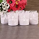 MIRADH - Flameless Diwali Led Tealight Candles- Long Lasting- 40+ Hours Each (6)