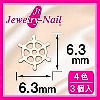 [フレーム]ネイルパーツ Nail Parts フレームダリン(L) ホワイト 日本製 made in japan