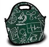 Neopren Kids - Fiambrera para almuerzo con símbolo y formeln auf der Schulbehörde
