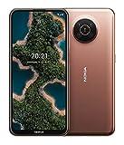 "Nokia X20 5G Smartphone, Dual-SIM, RAM 8GB, ROM 128GB, 64MP Quad-Kamera, 3 jahre herstellergarantie, 6,67"" Full HD+ Bildschirm, langlebiges Design, 2 Tage Akkulaufzeit & Pure Android 11 - Midnight Sun"