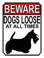 犬はいつもゆるい 金属板ブリキ看板警告サイン注意サイン表示パネル情報サイン金属安全サイン