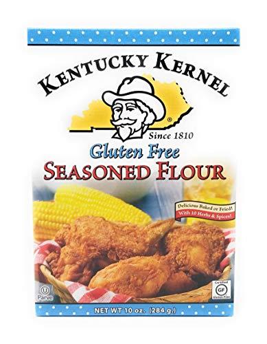 Kentucky Kernel Seasoned Flour, Gluten-Free, 10 Ounce (Pack of 6)
