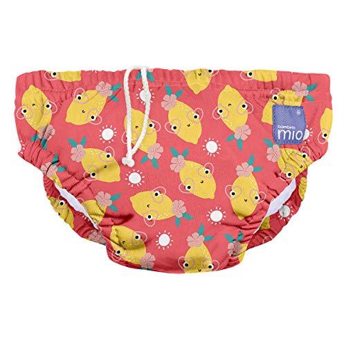 Bambino Mio SWPS TWI Bambino Mio, Wiederverwendbare Schwimmwindel, Zappelige Zitrone, S (<6 Monate), mehrfarbig