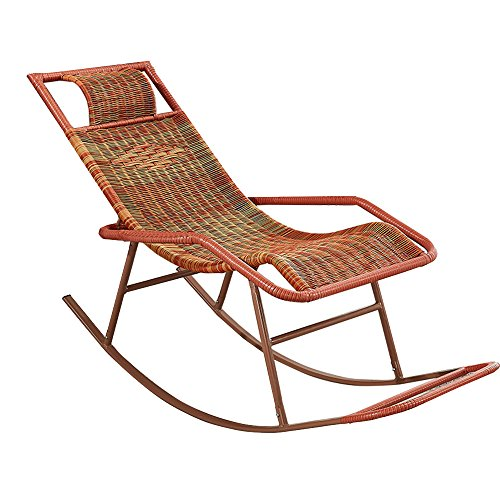 Goquik schommelstoel stok stoel volwassen Siesta lounge woonkamer balkon luie stoel gemakkelijk stoel oudere vrije tijd schommelstoel